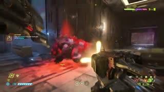 بخش کوتاهی از گیم پلی Doom Eternal-بازیمگ