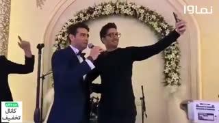 خوانندگی امیرحسین آرمان در پشت صحنه سریال مانکن