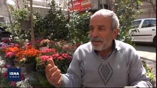 قصه پدر و پسری که درختان خیابان ولیعصر را کاشتند