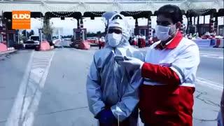 ویدئوکنفرانس رئیسجمهور با نجاتگر جمعیت هلالاحمر + ویدئو