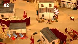 بخش کوتاهی از گیم پلی Bloodroots-بازیمگ