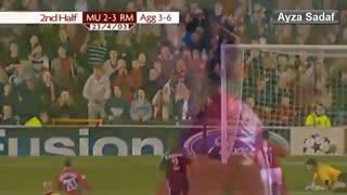 نوستالژی | منچستریونایتد vs رئال مادرید - مرحله 1/4 نهایی لیگ قهرمانان فصل 2002/03
