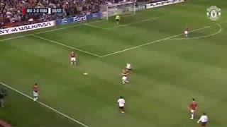 نوستالژی | منچستریونایتد vs آث رم - مرحله 1/4 نهایی لیگ قهرمانان فصل 2006/07