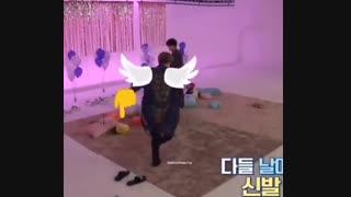 وقتی جونگ کوک جای چیمی رو کش میره :| !!(ویکوک / کوکوی / bts / taekook / vkook )