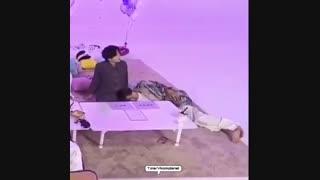وقتی تهکوک مشغول گرفتن ASMR بودند ~ Taekook / Vkook / bts ~