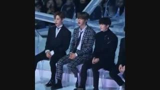 idol reactions to jimin's solo و کپشن فوق مهم