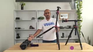 سه پایه حرفه ای عکاسی با قابلیت تی شو و پایه عنکبوتی - نگاه شاپ