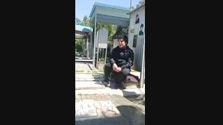 مرثیه بمناسبت روز علی اکبر (ع ) بربالای سرمزار شهید هاشم گودرزی  شهدای آذربایجان