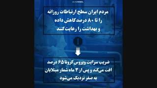 ۳ سناریو برای شیوع ویروس کرونا در ایران...