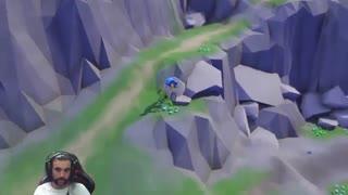پردیس شوکست: گیم پلی بازی  Lonely Mountains: Downhill