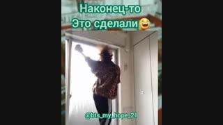 استفاده متفاوت از رقص ON بی تی اس :))