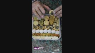 معرفی شیرینی مخلوط یزدی . پرفروش ترین شیرینی یزد