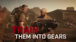 لانچ تریلر Gears Tactics